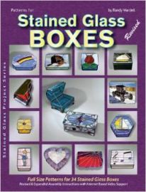 Patterns for Stained Glass Boxes (34 full size patterns)