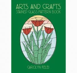 Art & Crafts: Stained Glass Pattern Book