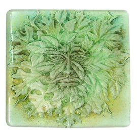 """Small Greenman Texture 7x7"""""""