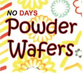 No Days Powder Wafer