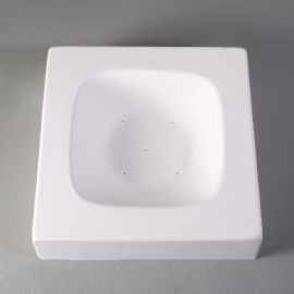 "Deep Retro Dish 6"" x 6"" Mould"