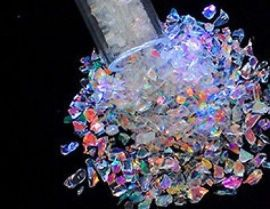 System 96 Dichroic Frit Flakes