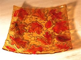 Autumn Leaves Texture Mould 12inch