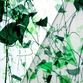 Clear, Green Fractures, Green Streamers