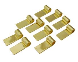 Gold Plated Tube Bail - 10 Pack