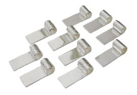 Siliver Plated Tube Top Bail - 10 Pack