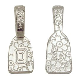 Silver Plated Floral Impressions4