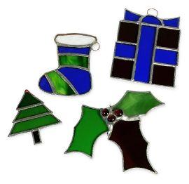 Christmas Decorations! A Copper Foiling Course
