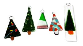Fused Glass Christmas Decorations Day