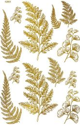 Gold Ferns ~ 42801