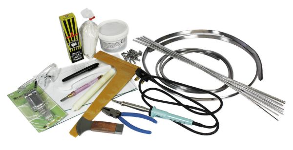 Stained Glass Tool Kit.Stained Glass Starter Kit