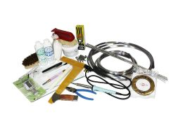 Deluxe Stained Glass Starter Kit - Leading and Foiling
