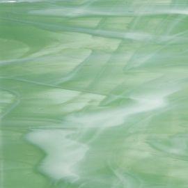 Opal 96 sea green and white wispy