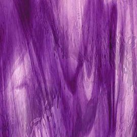 Oceanside Waterglass: Deep Violet/Purple streaky-96