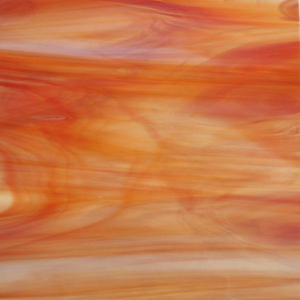 Spectrum Wispy Opal Orange Red White