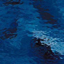 Dark blue waterglass