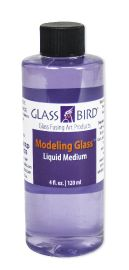 Modeling glass liquid medium