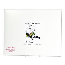 Pipers pattern paper