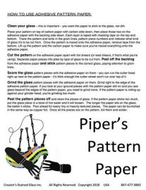Piper's Pattern Paper