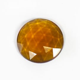 Faceted - amber