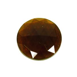 Faceted - dark amber