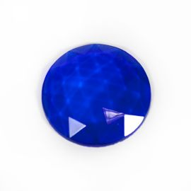 Faceted - blue