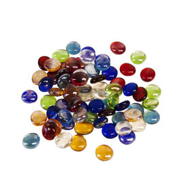 Coloured glass rounds