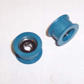 Blue pulley