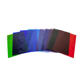 Stained glass colour selection packs