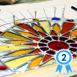 Advanced stained glass