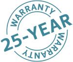 25-year-warranty on Twinson Fencing from Deeplas