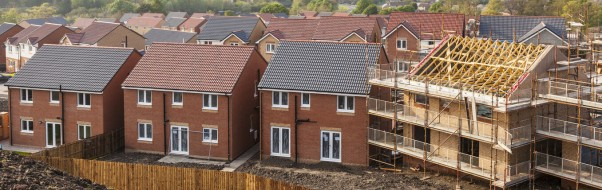 Housebuilding continues to rise