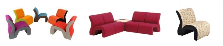 Modular Seating Staff Room by Edu-quip