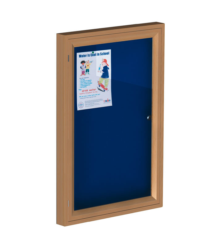 An image of Traditional Wooden Showcases - Indoor Noticeboards