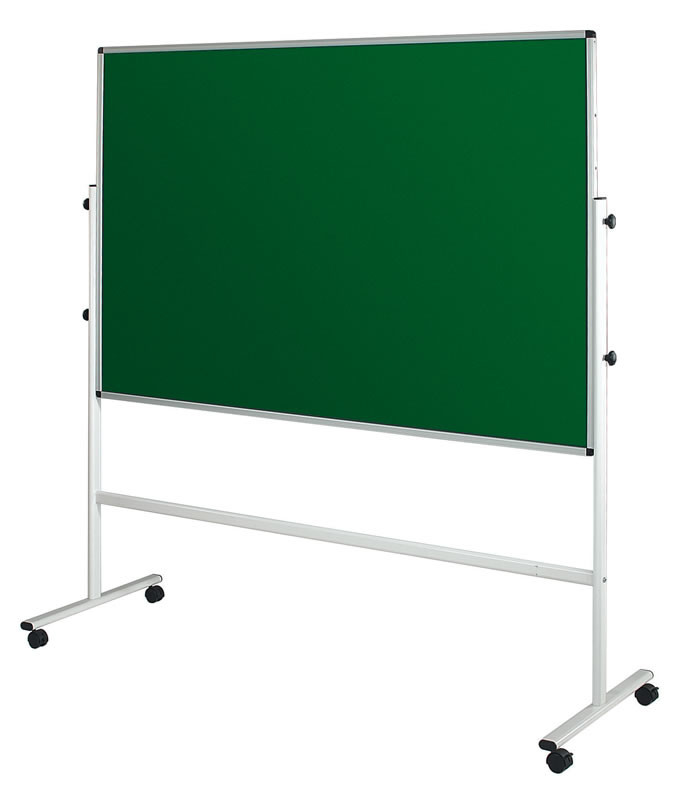 An image of Double Sided Mobile Noticeboards - Indoor Noticeboards