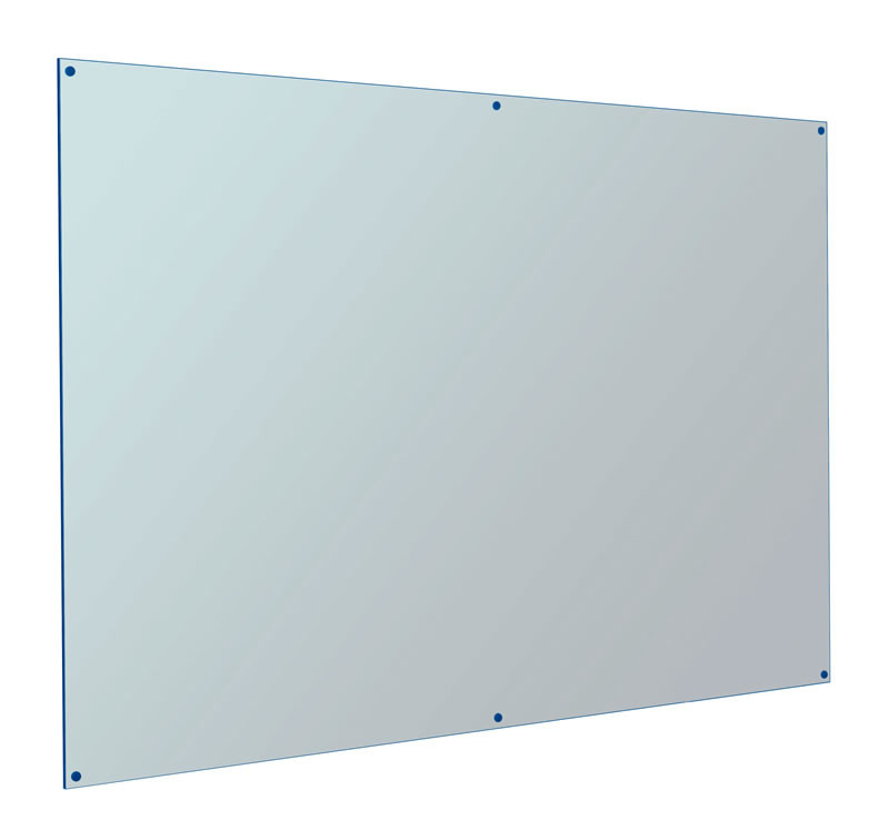 An image of Coloured Edge Whiteboard - Whiteboards