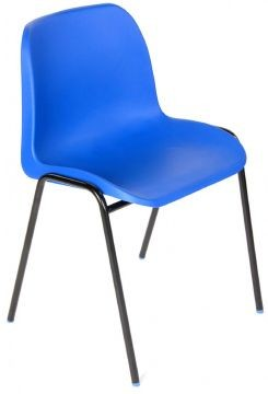 An image of 10 x Affinity General Purpose Chair Bulk Deal - School Dining Chai...
