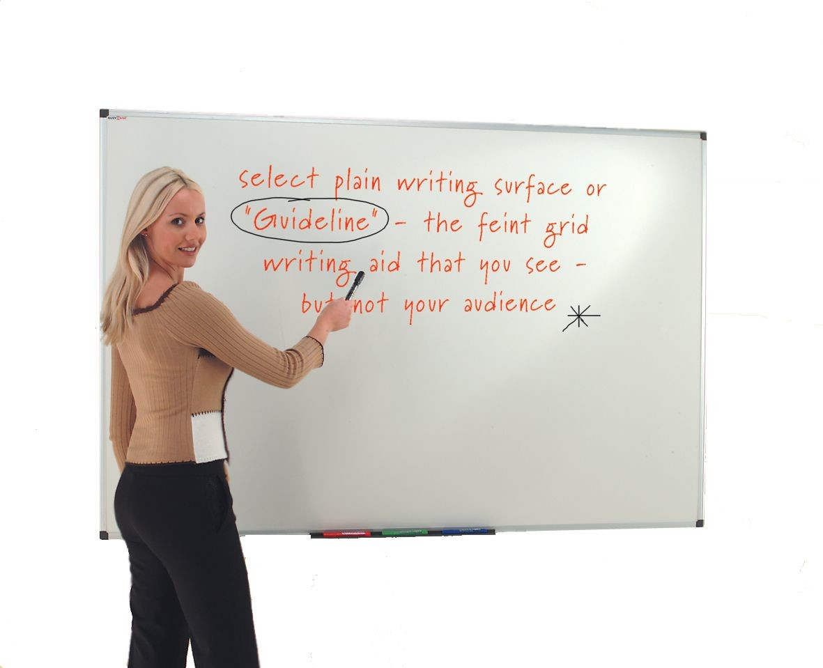 An image of Ultra-Smooth Whiteboards - Whiteboards