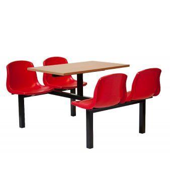 Mixbury 4 Seater - Red