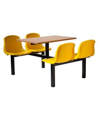 Mixbury 4 Seater - Yellow