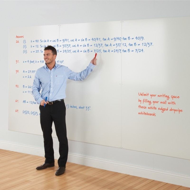 An image of Utech Whiteboard Wall - Whiteboards