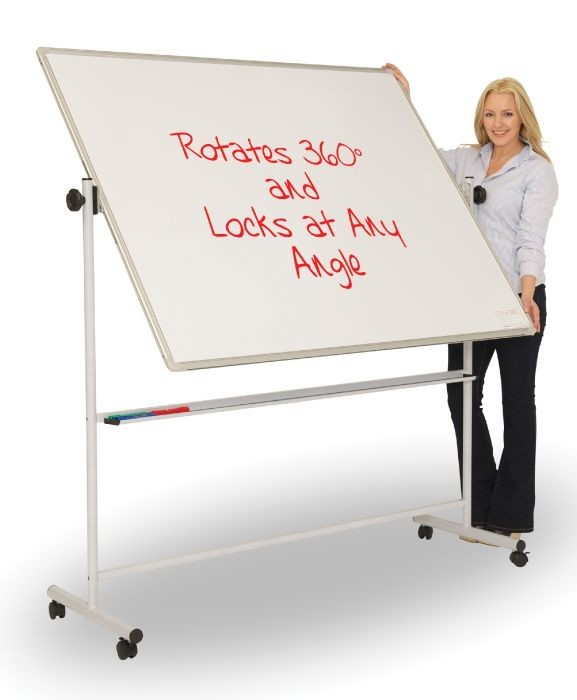 An image of PV Rotating Mobile Whiteboards - Whiteboards
