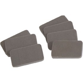 An image of 30 x Mini Junior Dry Wipe Erasers - Whiteboards
