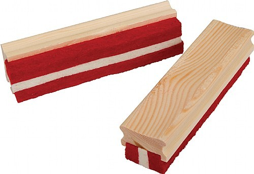 An image of Large Wood Felt Chalk Dusters - Accessories