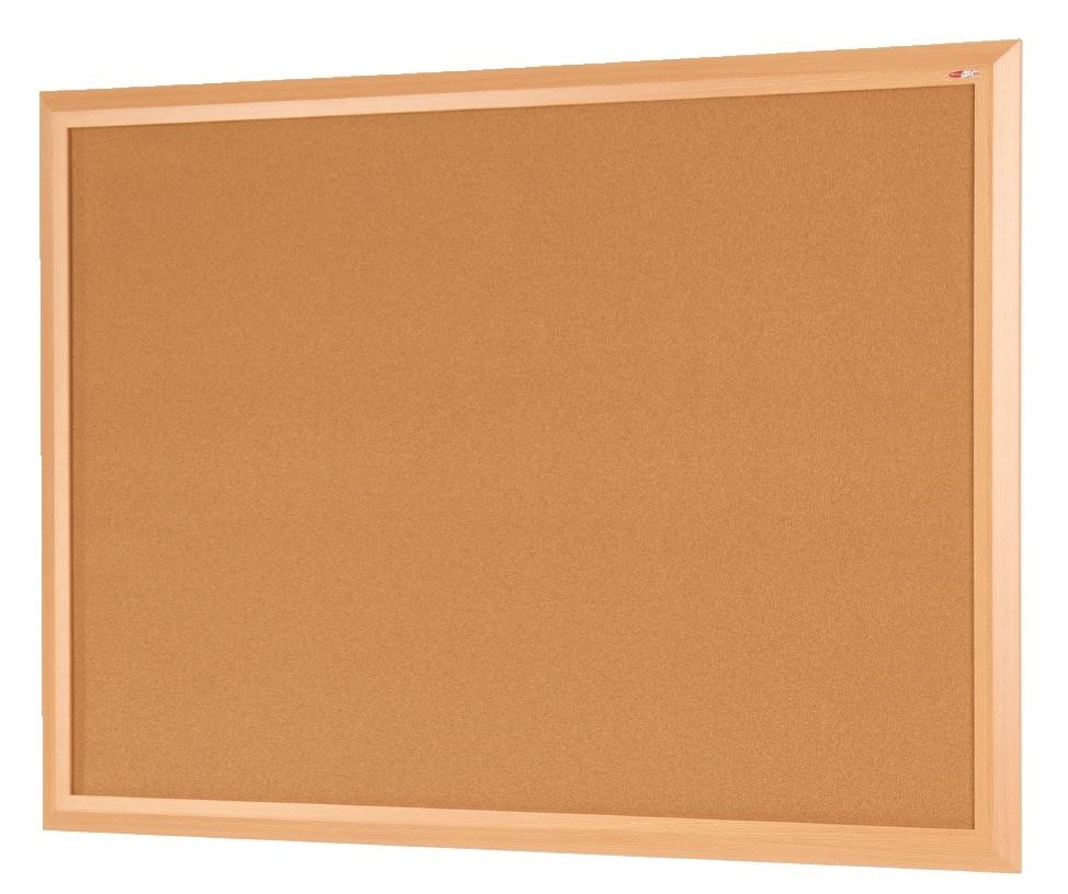 An image of Slimline Premium Cork Noticeboard - Cork Boards