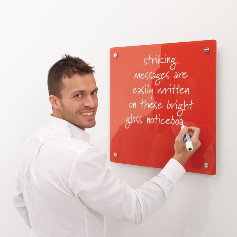 An image of Right On Magnetic Glass Writing Boards - Glass Boards