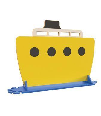 YBRD004 Yellow Boat