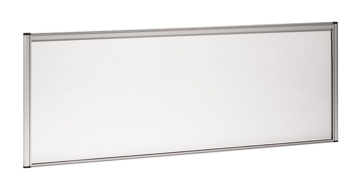 An image of Deluxe Magnetic Whiteboard Desk Screens - Whiteboards