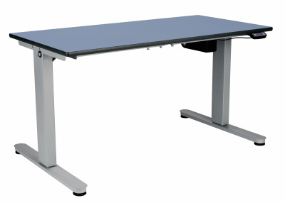 Height Adjustable Blue - Angled