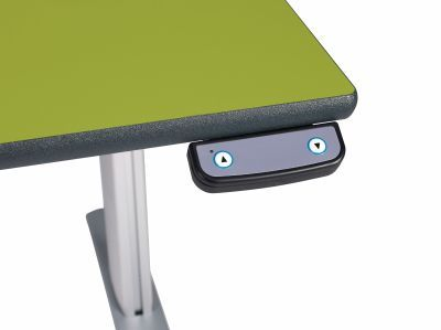 Height Adjustable Green - Detail